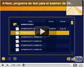 Vídeo explicativo del CD test del examen de Director de escuela particular de conductores