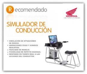 Nuevo examen de motocicleta y ciclomotor con simulador
