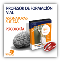 Profesor de Formación Vial: Psicología