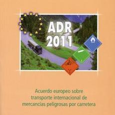 ADR 2011: Acuerdo europeo sobre transporte de mercancías peligrosas