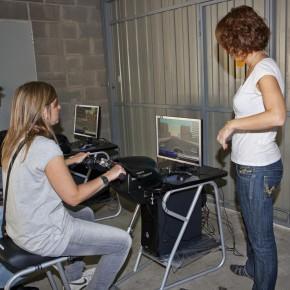 'Todos a rodar' califica de exitoso su curso sobre conducción de motos con los simuladores Honda Riding Trainer