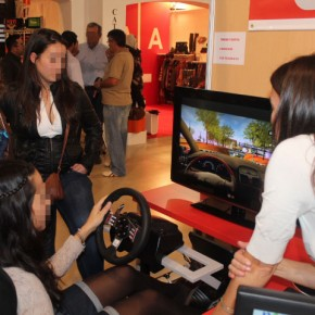 La autoescuela Ondara (Alicante) presenta su nuevo simulador ZALEM V25 con DRIVER TEST PRO