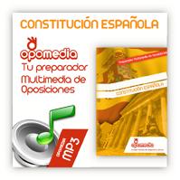 Nuevo manual sonoro de la Constitución Española en MP3