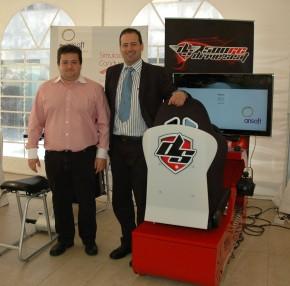 Gran éxito de los simuladores de Arisoft en Expoformación 2012