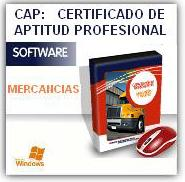 CAP MERCANCÍAS: CD multimedia de test