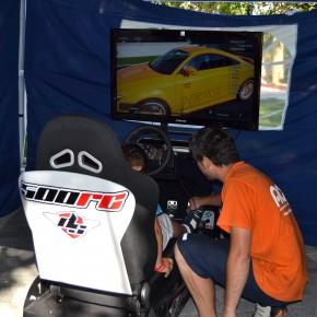 El simulador de conducción DRIVE SEAT 500RC en las Fiestas de San Pedro de Zamora