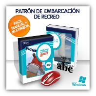 ¡PACK AHORRO! Libro y CD multimedia de Patrón de Embarcación de Recreo (PER)