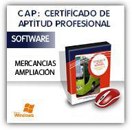 CDs multimedia: CAP MERCANCÍAS AMPLIACIÓN y CAP VIAJEROS AMPLIACIÓN