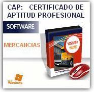 CERTIFICADO DE APTITUD PROFESIONAL - CAP MERCANCÍAS