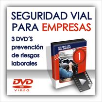 Seguridad vial para empresas en DVD: prevención de riesgos laborales