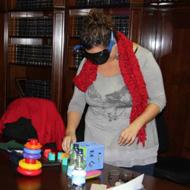 La mutua de accidentes Solimat imparte un curso de seguridad vial con gafas de simulación de alcohol