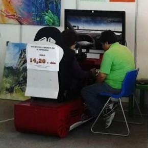 La autoescuela 2.0 Innovat.es participa en la feria Expoebre 2013 con un simulador de turismo