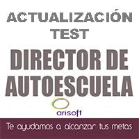 Actualización test Director de autoescuela