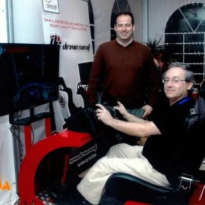 Simuladores de conducción en Expoformación 2014