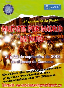 Arisoft participa en la 6ª edición de Muévete por Madrid en Moto