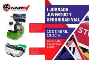 Arisoft participa en la I Jornada Juventud y Seguridad Vial en Elche el 13 de abril