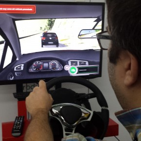 Jornada de seguridad vial en Schneider Electric España con DRIVESEAT 500ST y DRIVESIM