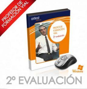 Actualización del CD de 2ª evaluación Curso XIX Profesor Formación Vial - Arisoft