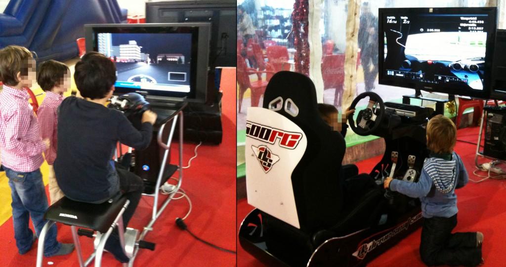 Simulador de conducción - Cockpit DRIVE SEAT 500RC en Pekelandia Winter Park