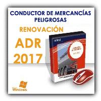 Actualización test para renovar la autorización mercancías peligrosas conforme ADR 2017