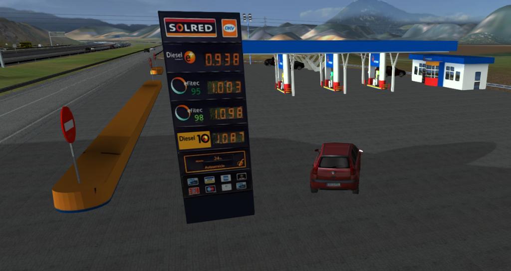 Conducción eficiente - Simulador de conducción - Simulador de turismo