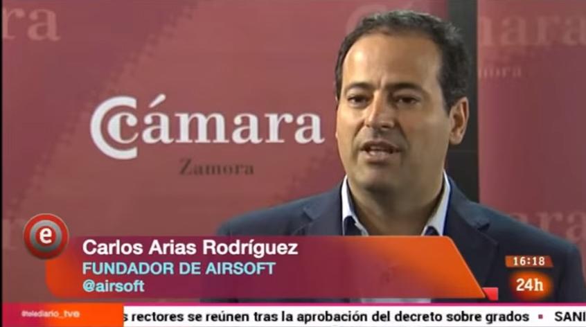 Carlos Arias en Emprende TVE24