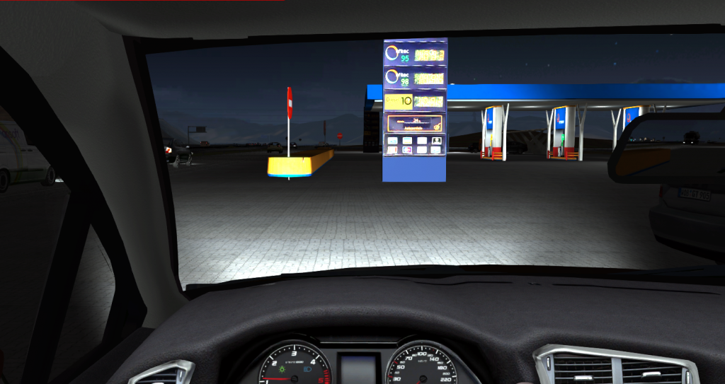 Conducción eficiente - Simulador de turismo