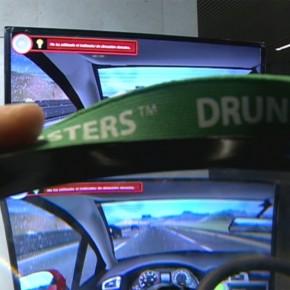 """El simulador de conducción DriveSim y las gafas de simulación de alcohol en la jornada """"La Seguridad Vial en la empresa"""" de FESVIAL"""