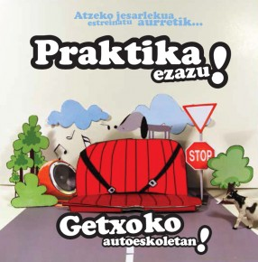Preparar el examen práctico de conducir en euskera