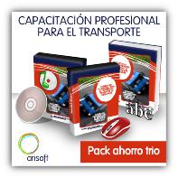 Pack ahorro para preparar el examen de Capacitación de Transportistas