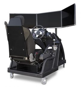 Prácticas en simulador de conducción para preparar oposiciones