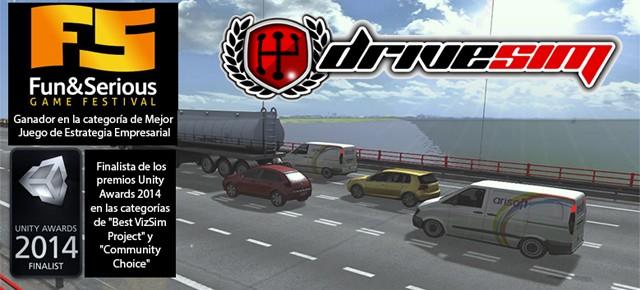 El simulador de conducción DriveSim, mejor juego de Estrategia empresarial