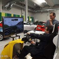 El concesionario Renault Fyvasa de Benavente participa con un simulador en la II Feria del Vehículo de Ocasión