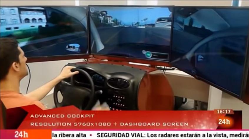 Simulador de conducción DriveSim