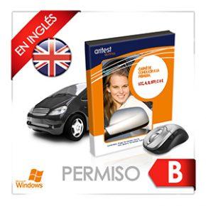 Actualización del CD multimedia de test del Permiso B en inglés