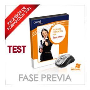 PROFESOR FASE PREVIA 2019-XXII: ACTUALIZACIÓN DE TEST