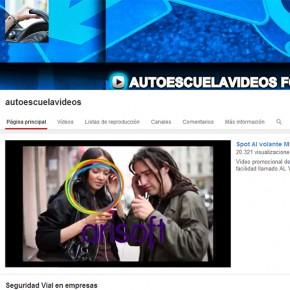 ¡3.000 suscriptores en el canal de Youtube Autoescuelavideos!